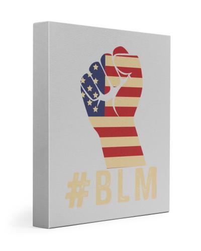 Black Lives Matter American Flag Pride
