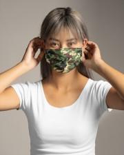 Camo Face Mask Cloth Face Mask - 10 Pack aos-face-mask-lifestyle-16