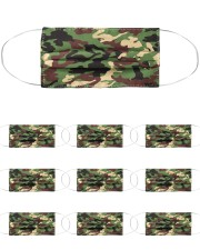 Camo Face Mask Cloth Face Mask - 10 Pack front