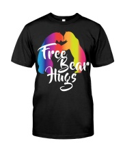 Bear Hugs Gift LGBT Pride Month Classic T-Shirt front
