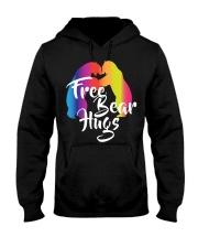 Bear Hugs Gift LGBT Pride Month Hooded Sweatshirt thumbnail