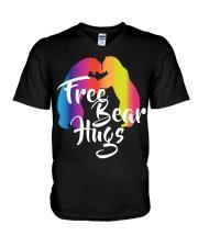 Bear Hugs Gift LGBT Pride Month V-Neck T-Shirt thumbnail