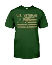 US Veteran Papa Classic T-Shirt front