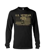 US Veteran Papa Long Sleeve Tee thumbnail