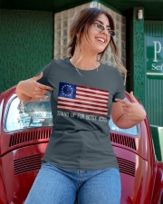 Betsy Ross 1776  Ladies T-Shirt apparel-ladies-t-shirt-lifestyle-01