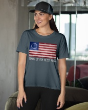 Betsy Ross 1776  Ladies T-Shirt apparel-ladies-t-shirt-lifestyle-front-07