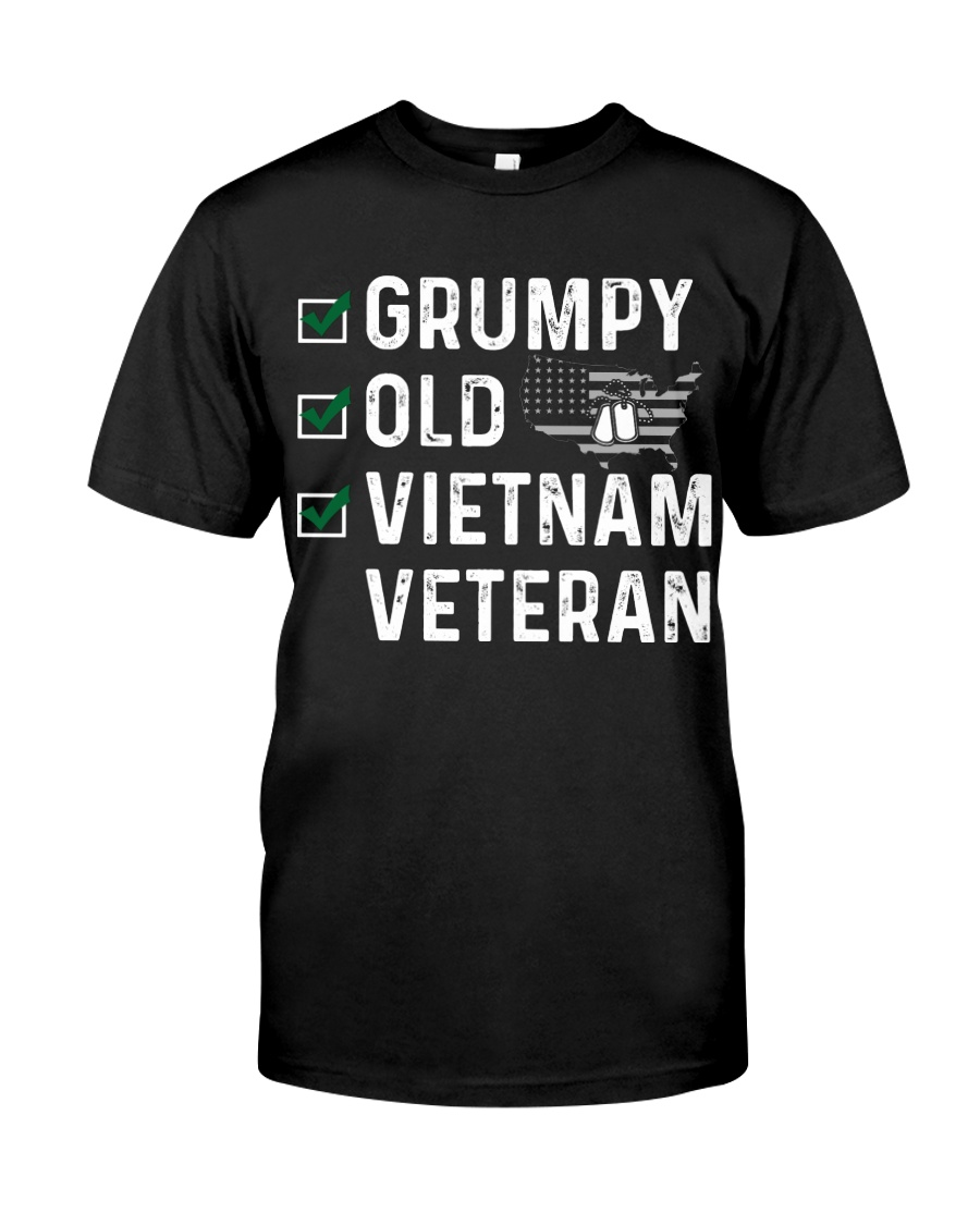 Grumpy Old Vietnam Veteran Classic T-Shirt