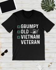 Grumpy Old Vietnam Veteran Classic T-Shirt lifestyle-mens-crewneck-front-17