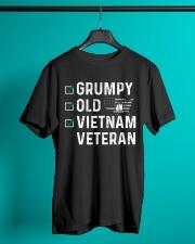 Grumpy Old Vietnam Veteran Classic T-Shirt lifestyle-mens-crewneck-front-3