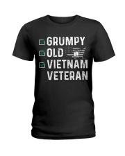 Grumpy Old Vietnam Veteran Ladies T-Shirt thumbnail