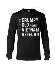 Grumpy Old Vietnam Veteran Long Sleeve Tee thumbnail