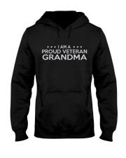 Proud Veteran Grandma Hooded Sweatshirt thumbnail