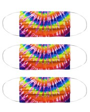 Tie-dye Cloth Face Mask - 3 Pack front