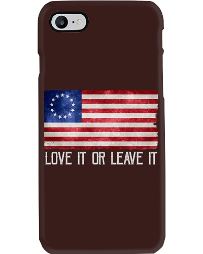 Love It or Leave It Betsy Ross