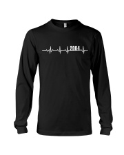 2004 Heartbeat Birthday Gift Long Sleeve Tee thumbnail