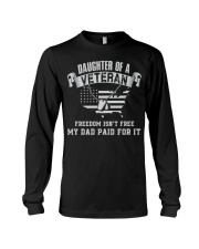 Daughter Of A Veteran Long Sleeve Tee thumbnail