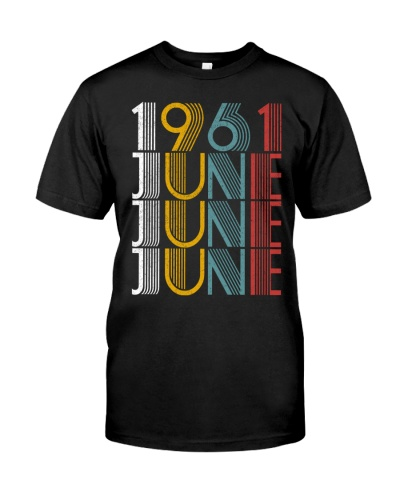 June 1961 Birthday Vintage Style