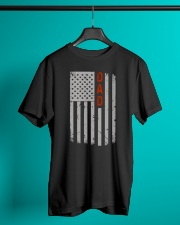 Dad American Flag Pride 4th of July Classic T-Shirt lifestyle-mens-crewneck-front-3