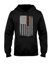 Dad American Flag Pride 4th of July Hooded Sweatshirt thumbnail