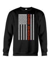 Dog Dads American Flag Pride 4th of July  Crewneck Sweatshirt thumbnail