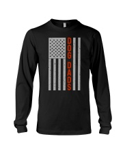 Dog Dads American Flag Pride 4th of July  Long Sleeve Tee thumbnail