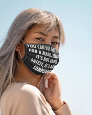You can use anything for a mask face mask Cloth face mask aos-face-mask-lifestyle-19