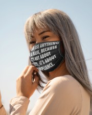You can use anything for a mask face mask Cloth face mask aos-face-mask-lifestyle-20