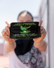 Dragon I don't understand stupid people face mask Cloth face mask aos-face-mask-lifestyle-07