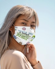 Walk away I have anger issues face mask Cloth face mask aos-face-mask-lifestyle-19