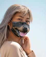 Rottweiler dog face mask Cloth face mask aos-face-mask-lifestyle-19