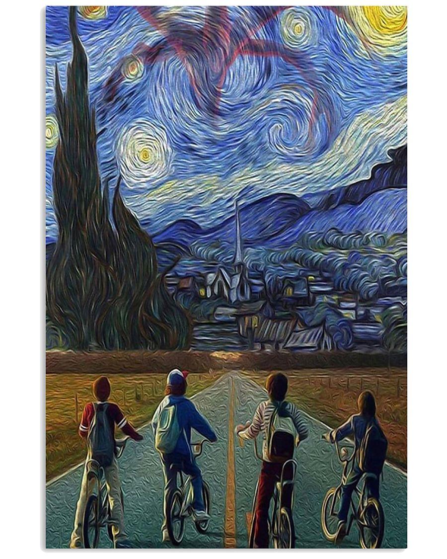 Stranger Things Starry Night Poster 11x17 Poster