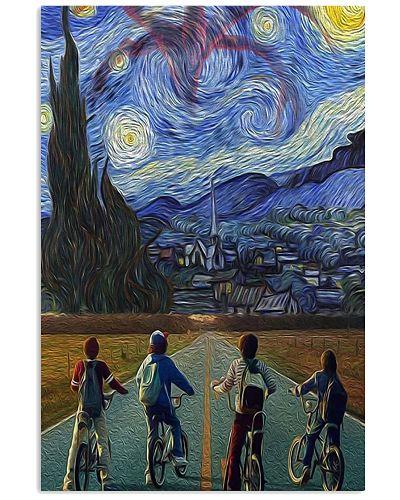 Stranger Things Starry Night Poster