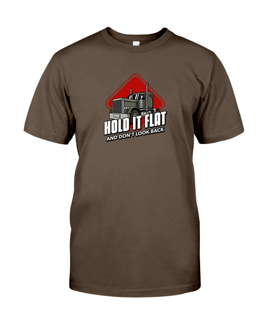 Hold it flat and Don't Look Back Premium Fit Mens Tee