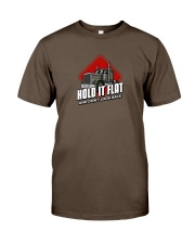 Hold it flat and Don't Look Back Premium Fit Mens Tee front