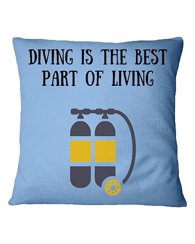 Diving is the best part of living