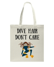Dive hair don't care Tote Bag thumbnail