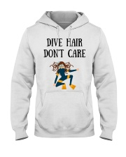 Dive hair don't care Hooded Sweatshirt thumbnail