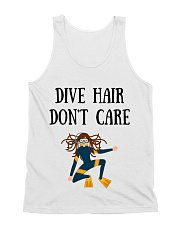 Dive hair don't care All-over Unisex Tank thumbnail