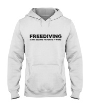 Freediving is my second favorite F-word Hooded Sweatshirt thumbnail