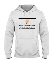 A life without diving is possible but boring Hooded Sweatshirt thumbnail