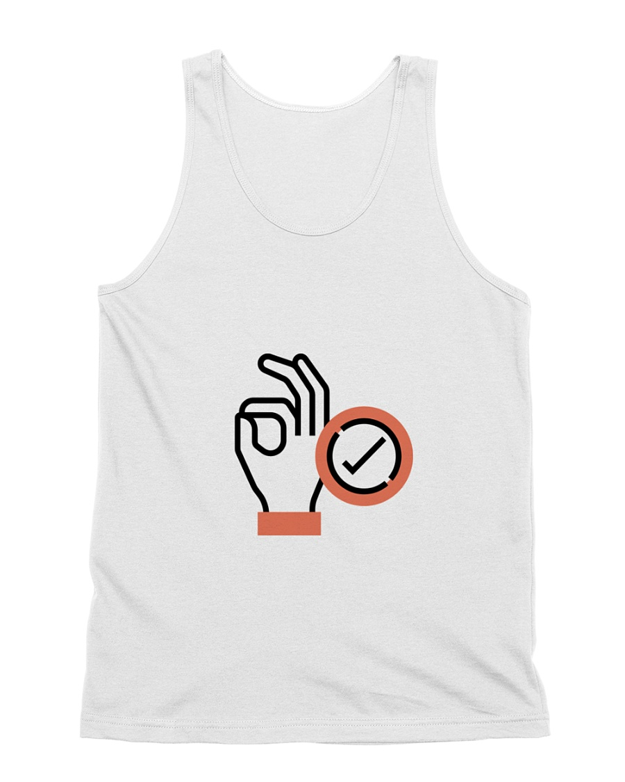 Diver's ok sign All-over Unisex Tank