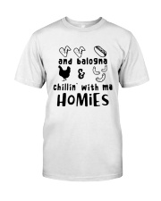 and balogna chilin with ma Classic T-Shirt thumbnail
