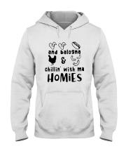 and balogna chilin with ma Hooded Sweatshirt thumbnail