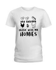 and balogna chilin with ma Ladies T-Shirt thumbnail