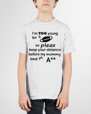 ONLY 17 TODAY Youth T-Shirt garment-youth-tshirt-front-01