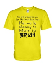 ONLY 17USD TODAY-MOM TO- BRUH V-Neck T-Shirt thumbnail