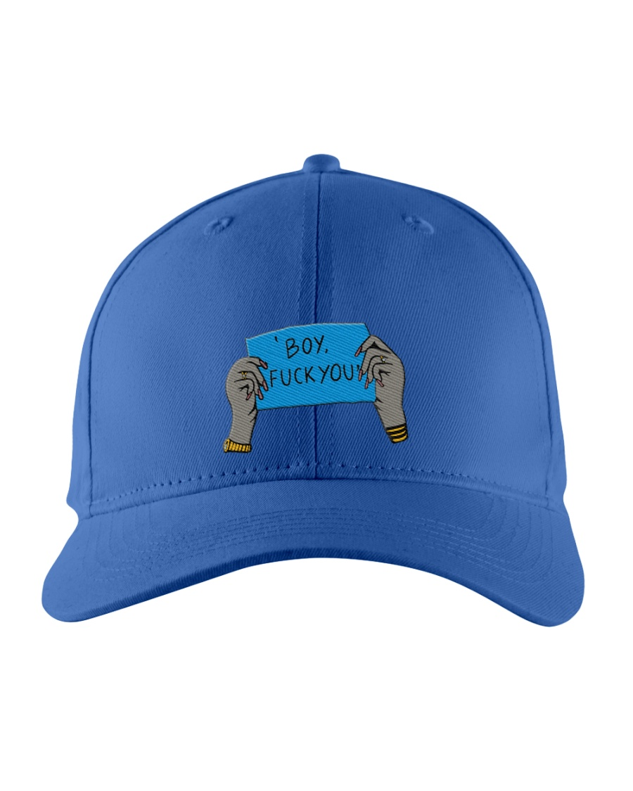 boy fk you Embroidered Hat