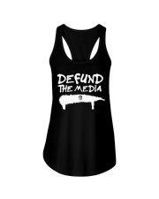 ONLY 16 TODAY- DEFUND THE MEDIA Ladies Flowy Tank thumbnail