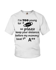 ONLY 17 TODAY Youth T-Shirt front