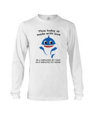 this baby is made with love Long Sleeve Tee thumbnail